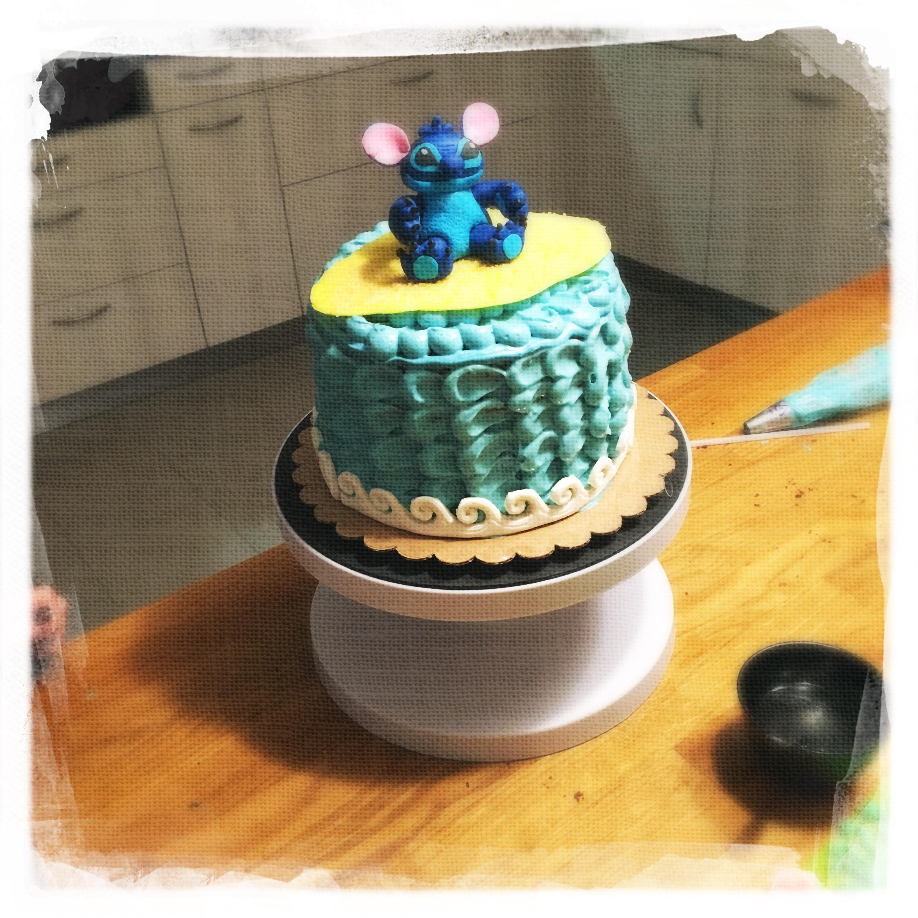 Cours privé Gâteau Stitch XV