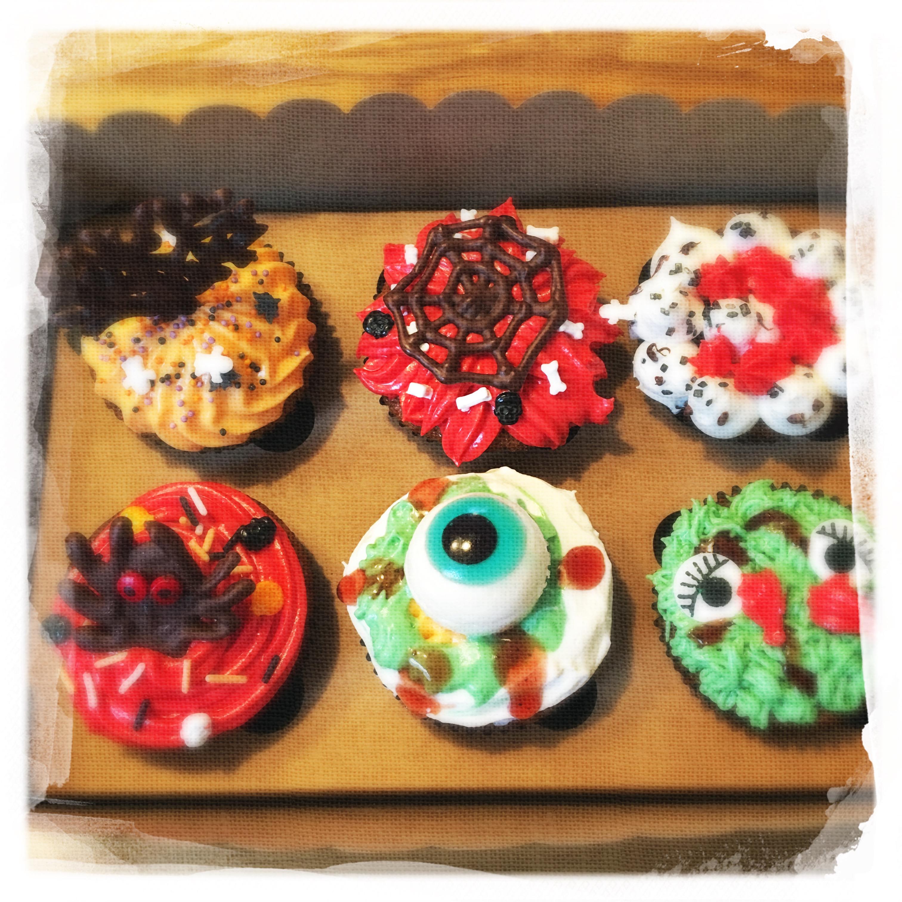 Cours privé Cupcakes Halloween XIX