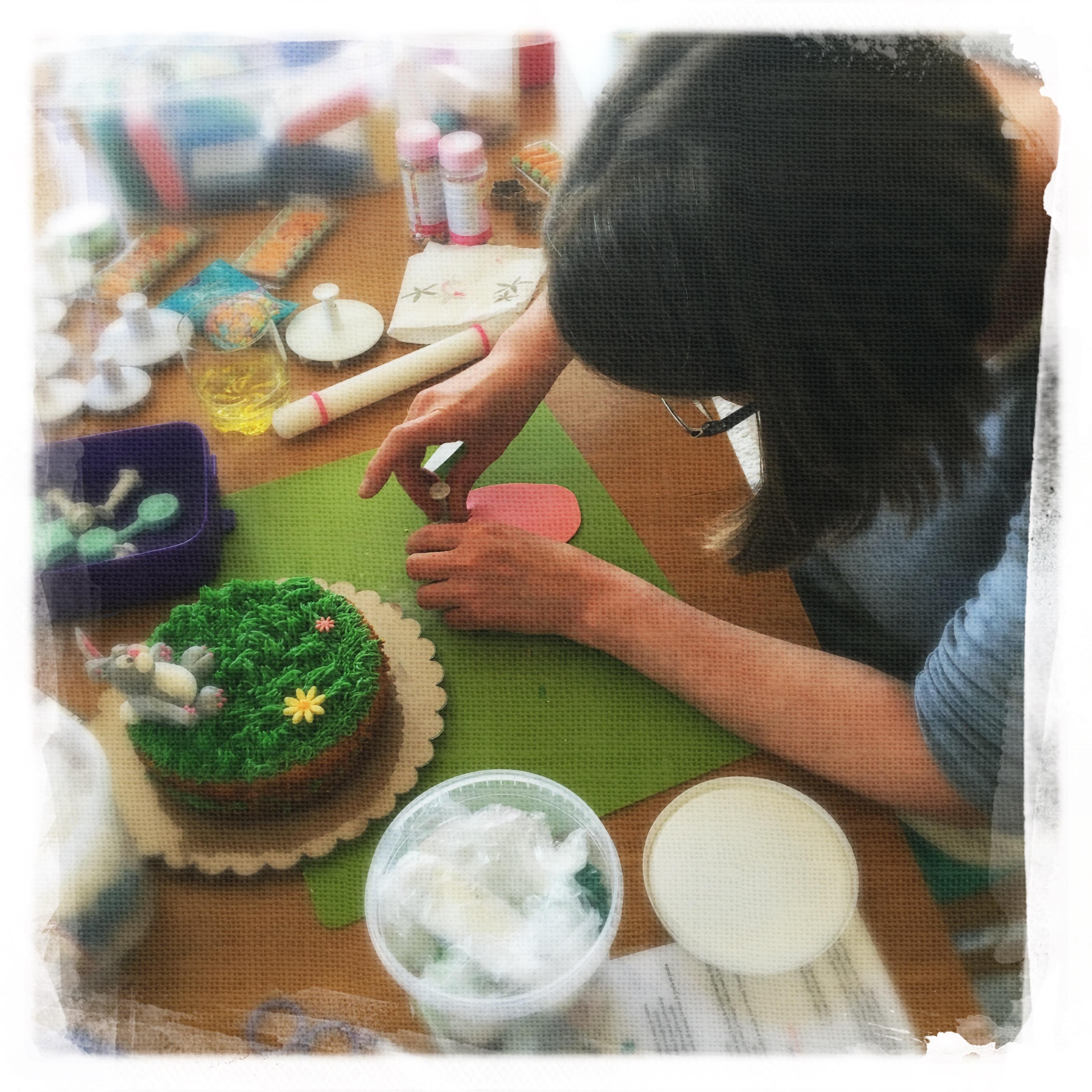 Cours Gâteau de Pâques VI