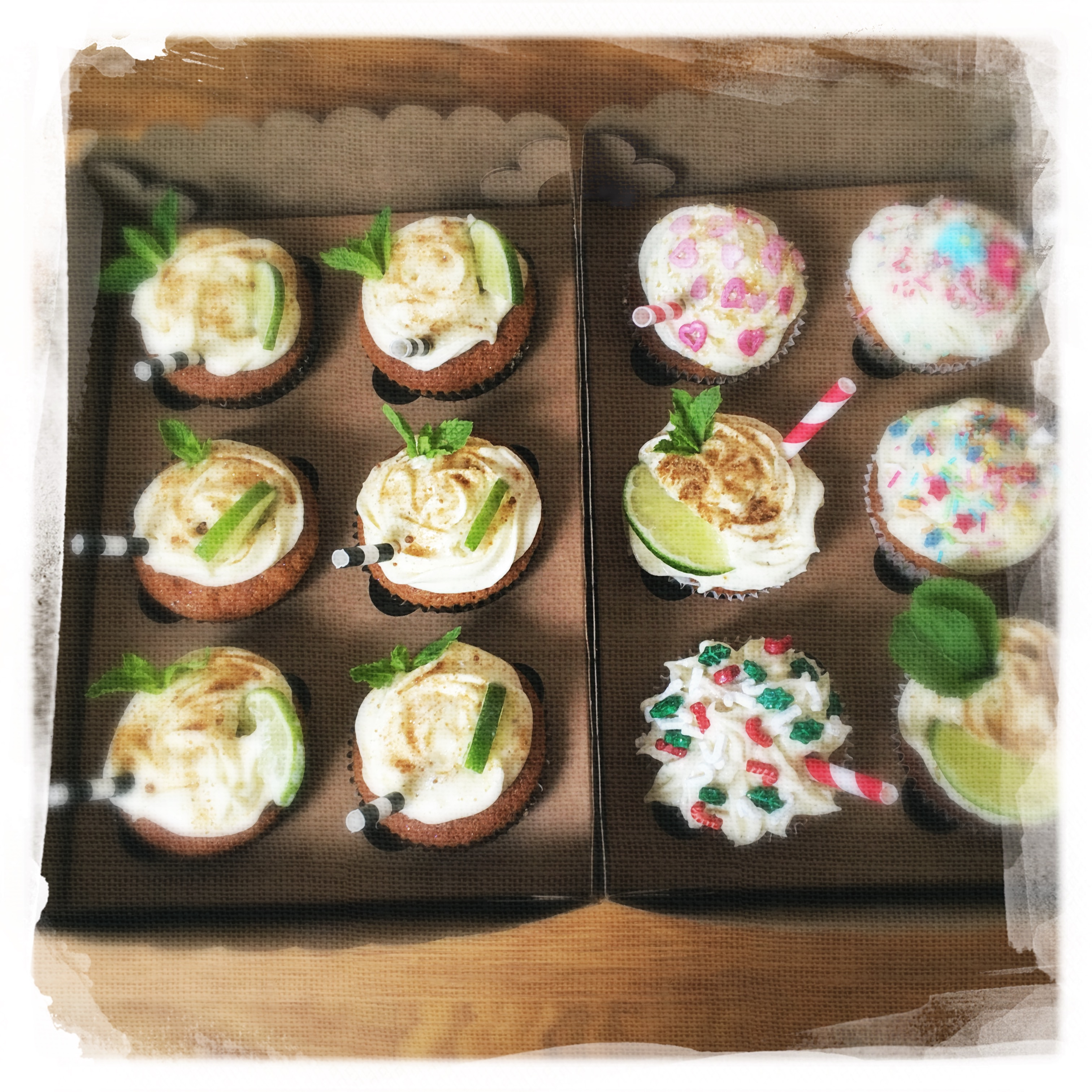 Cours Cupcakes Mojito X