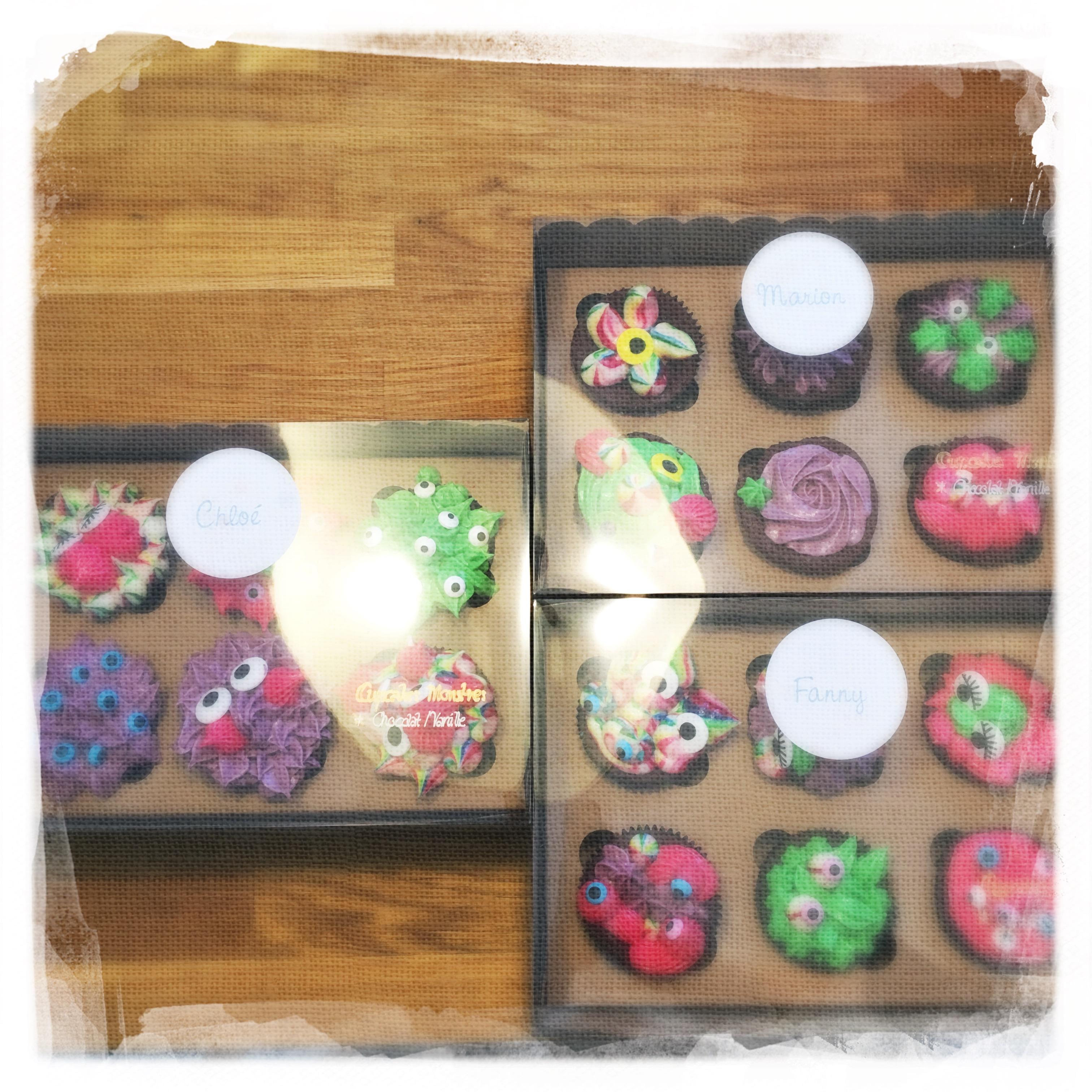 Cours privé Cupcakes Monstres XIV
