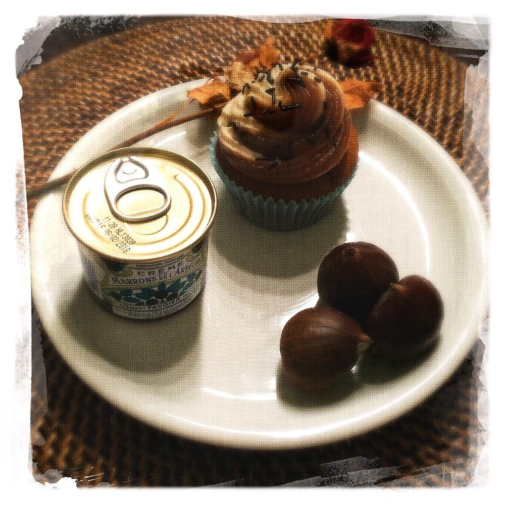 Cupcake Marron... Marron