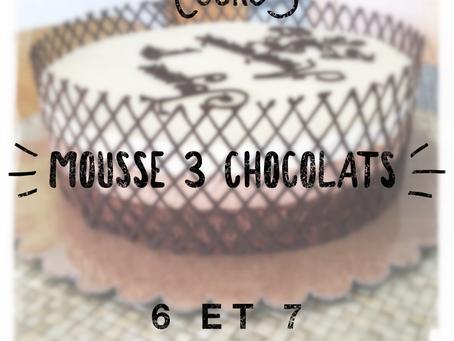 Cours Mousse 3 Chocolats