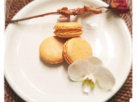Nouveau: Macaron Fleur d'oranger