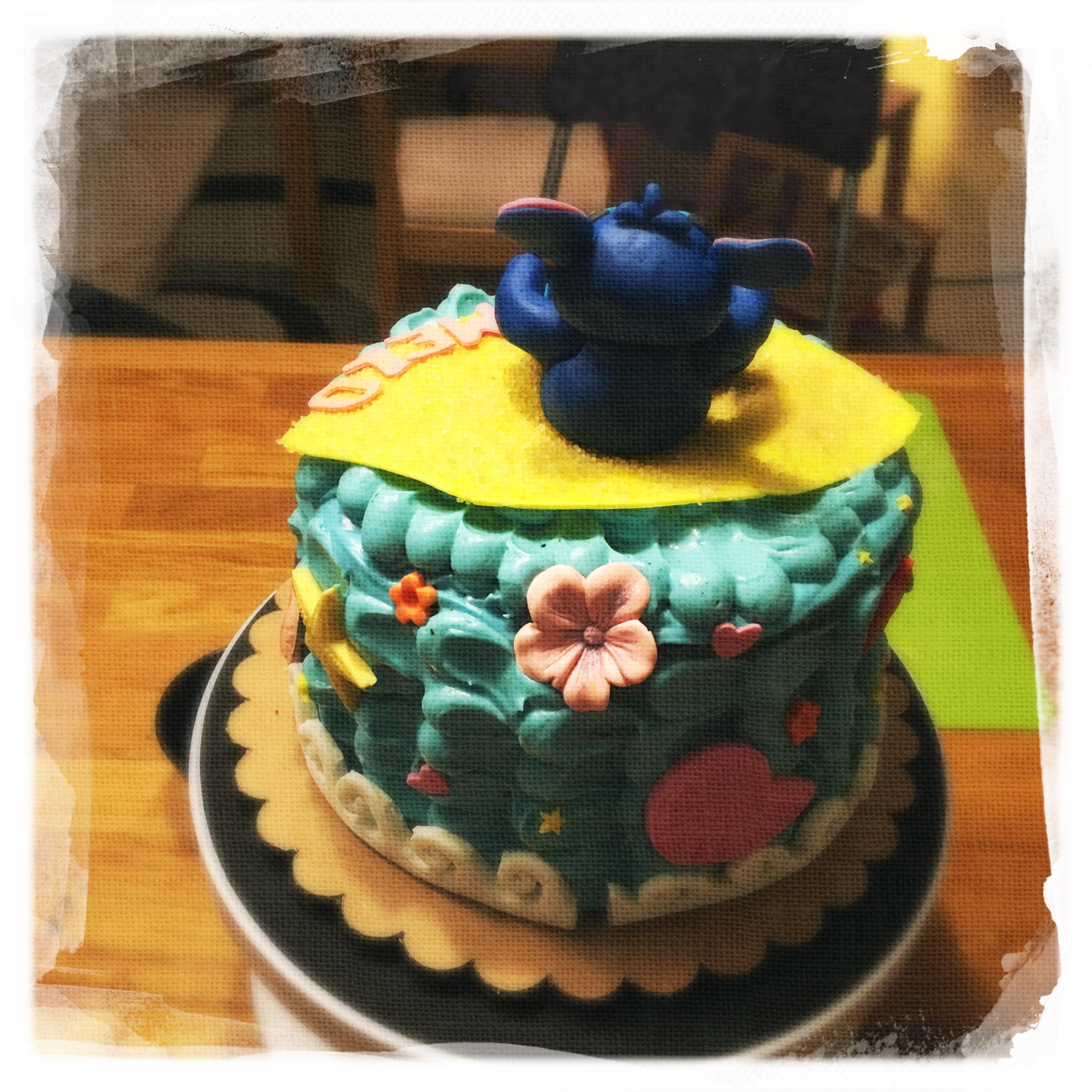 Cours privé Gâteau Stitch XVII