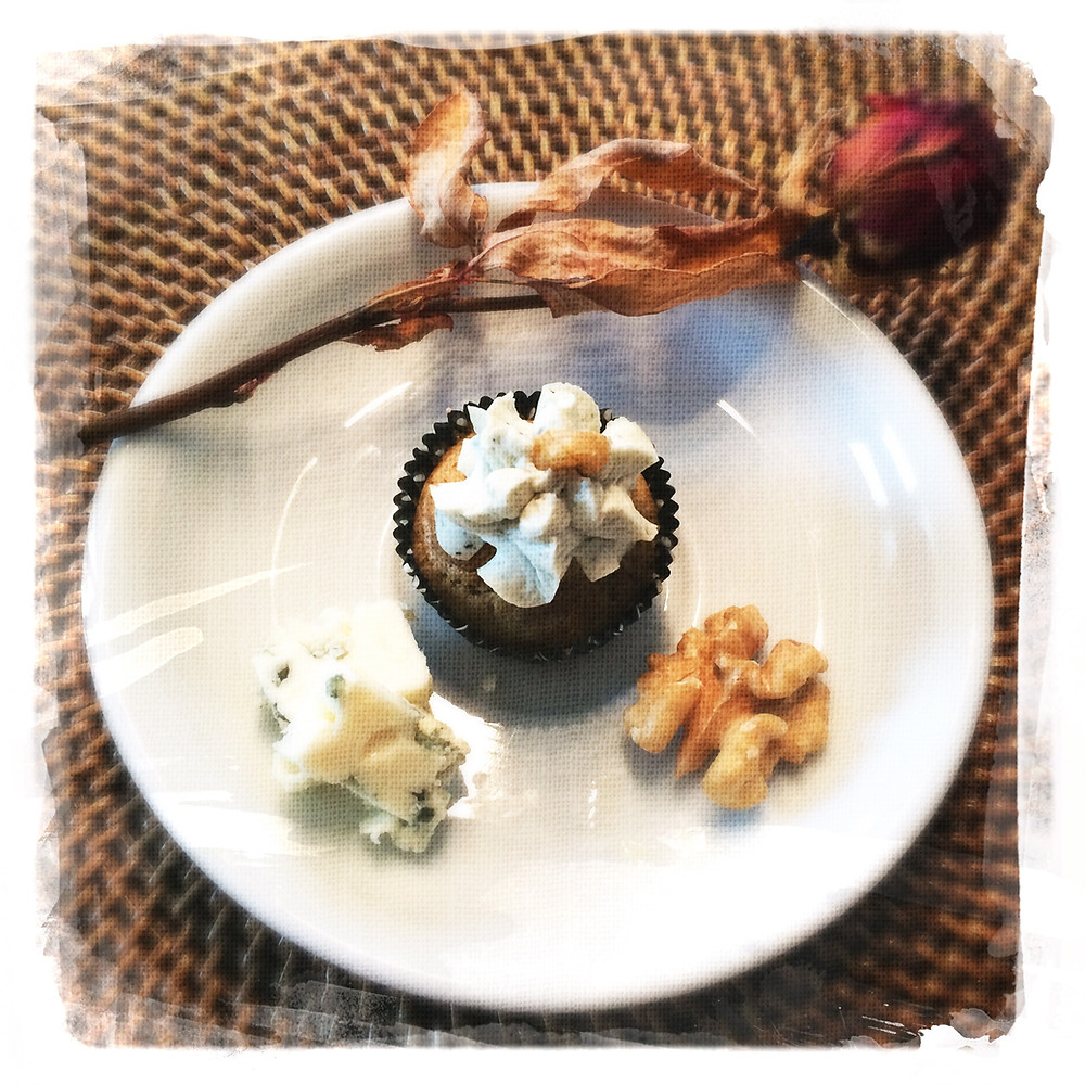 Cupcake Noix/Roquefort