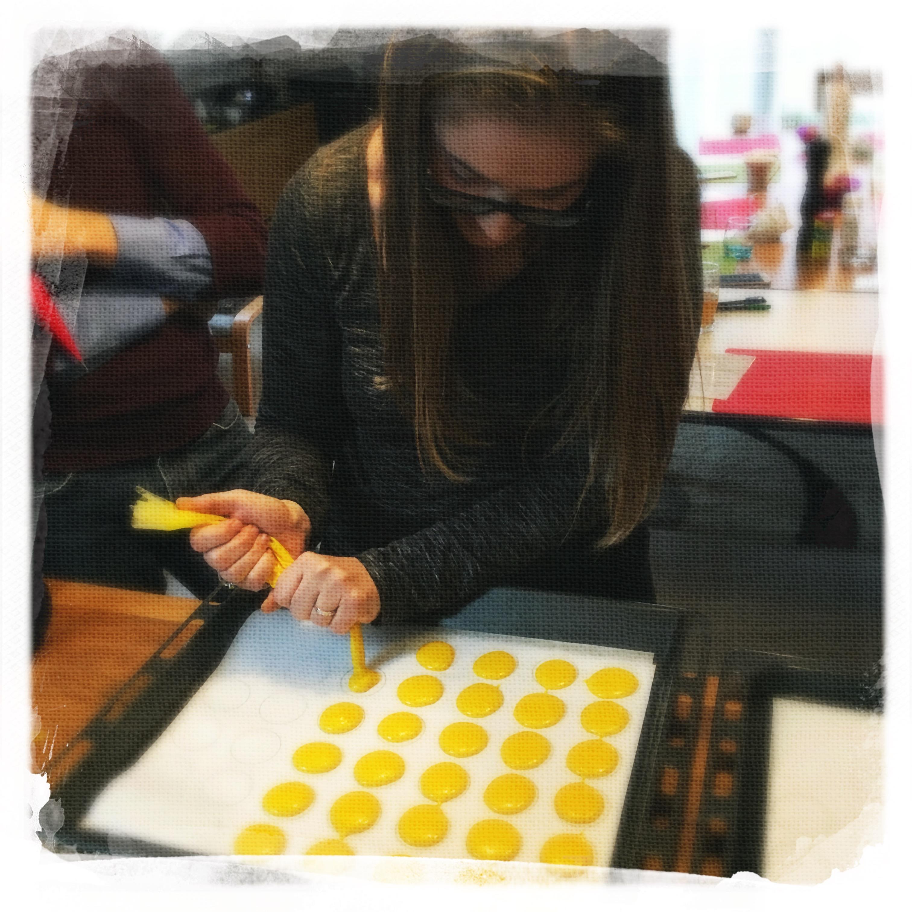 Cours Macarons salés 14