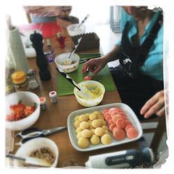 Cours Macarons salés '16 IV