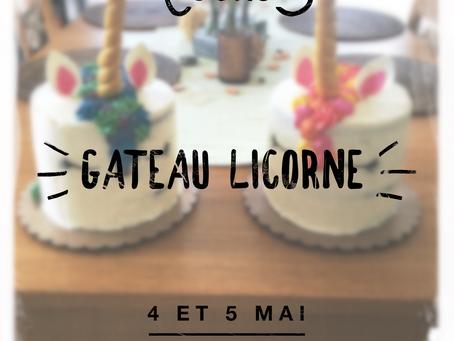 Cours Gâteau Licorne