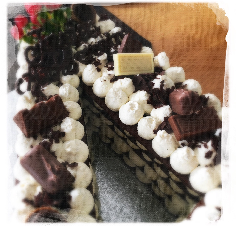 Number cake choco III
