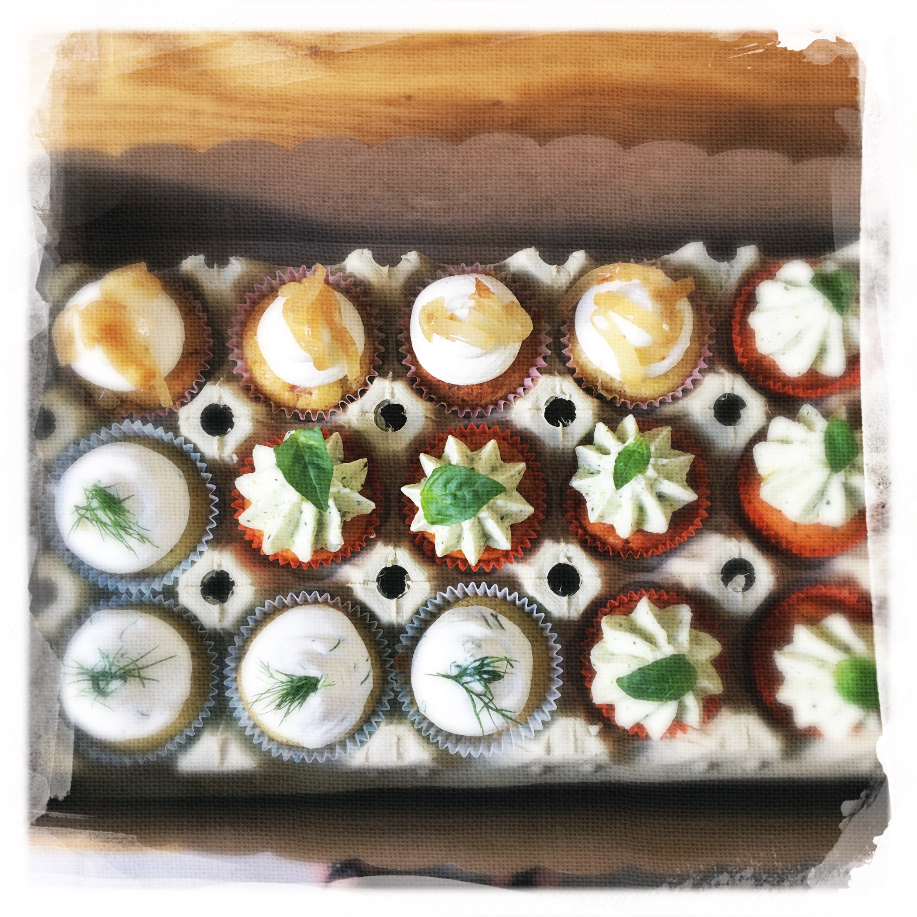 Cours Cupcakes salés 2 XXIV