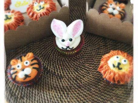 Cours Parent/Enfant Cupcakes animaux