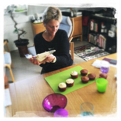 Cupcakes Potiron/Sirop d'érable X