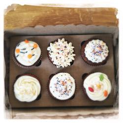 Cupcakes Potiron/Sirop d'érable XXV