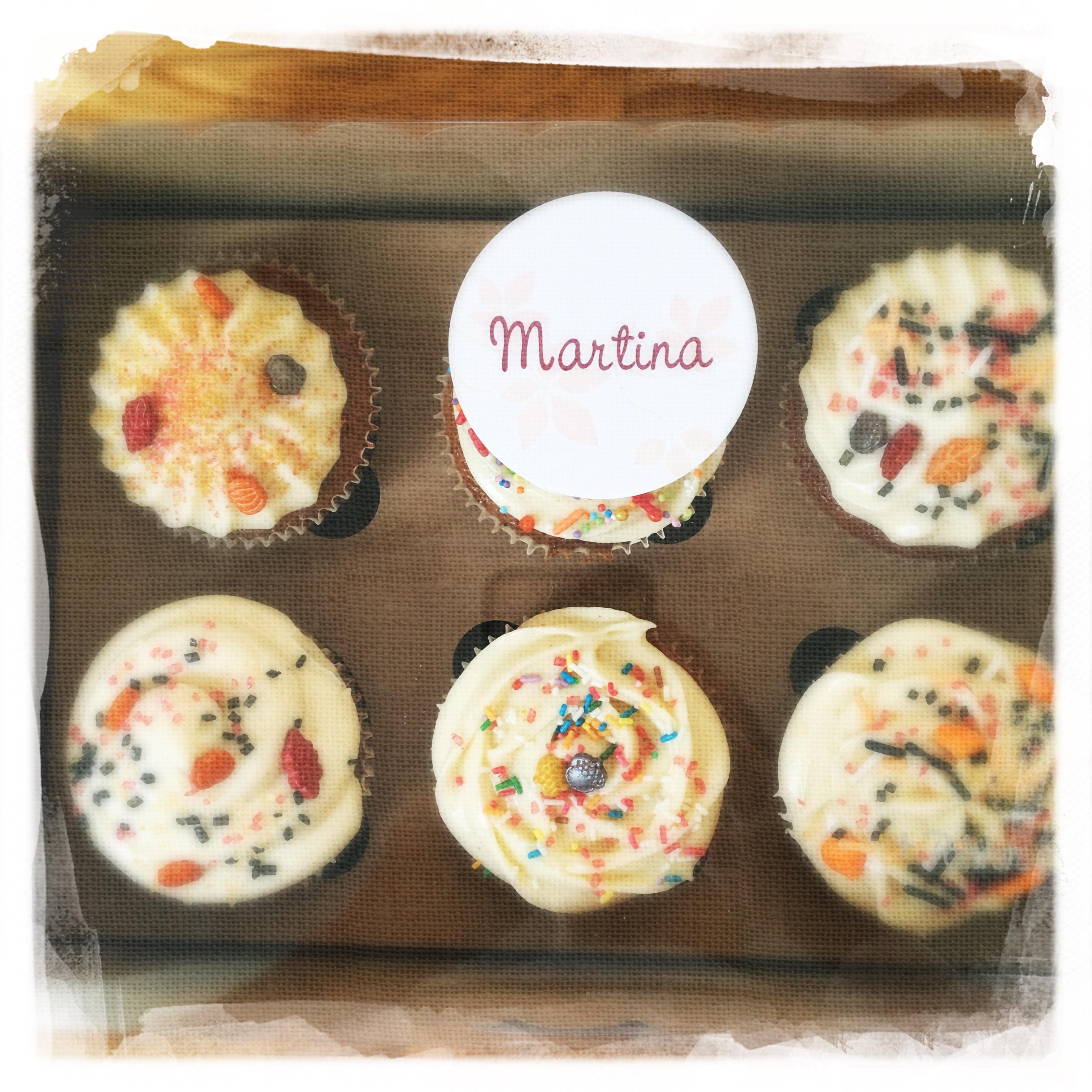 Cupcakes Potiron/Sirop d'érable XXIV