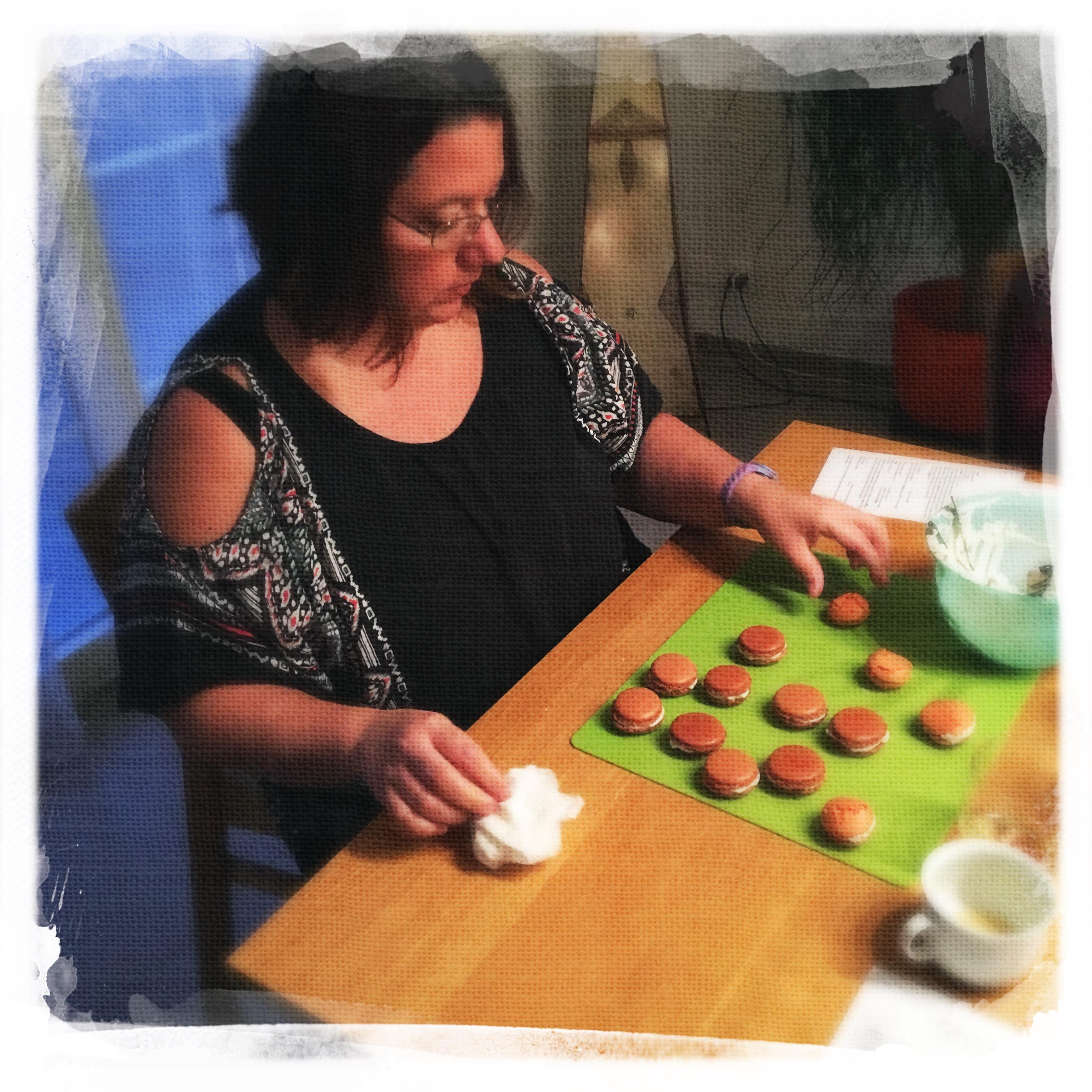Cours Macarons salés 22