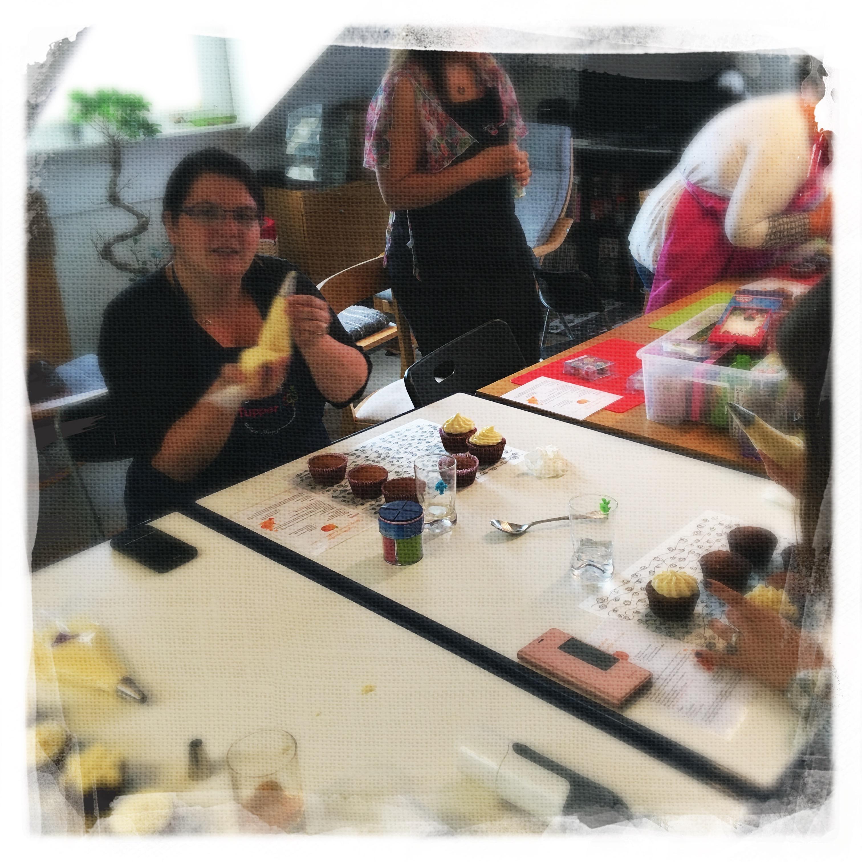 Cours Cupcakes Potiron/... IV