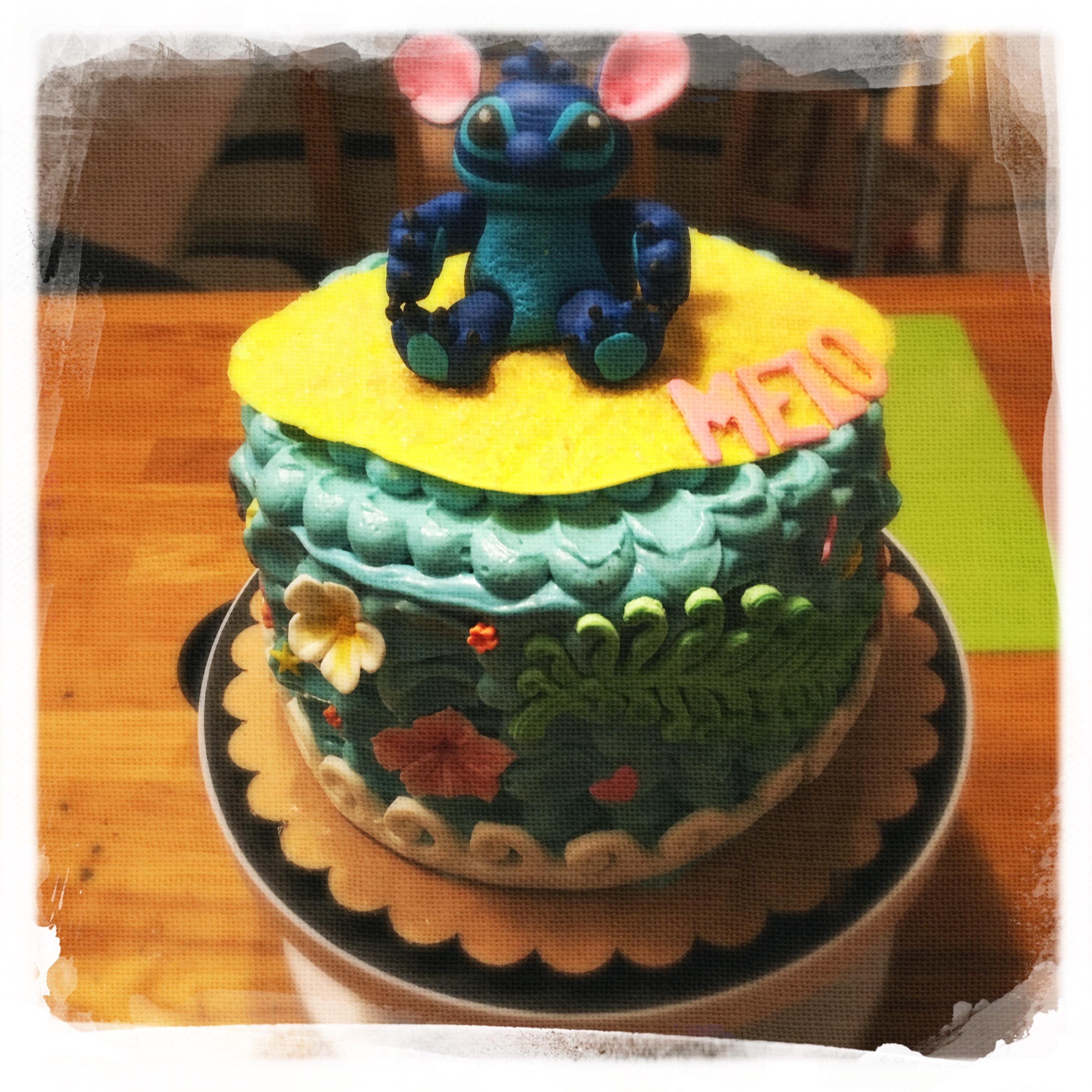 Cours privé Gâteau Stitch XX