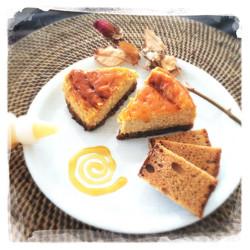 Cheesecake Pain d'épices/Caramel