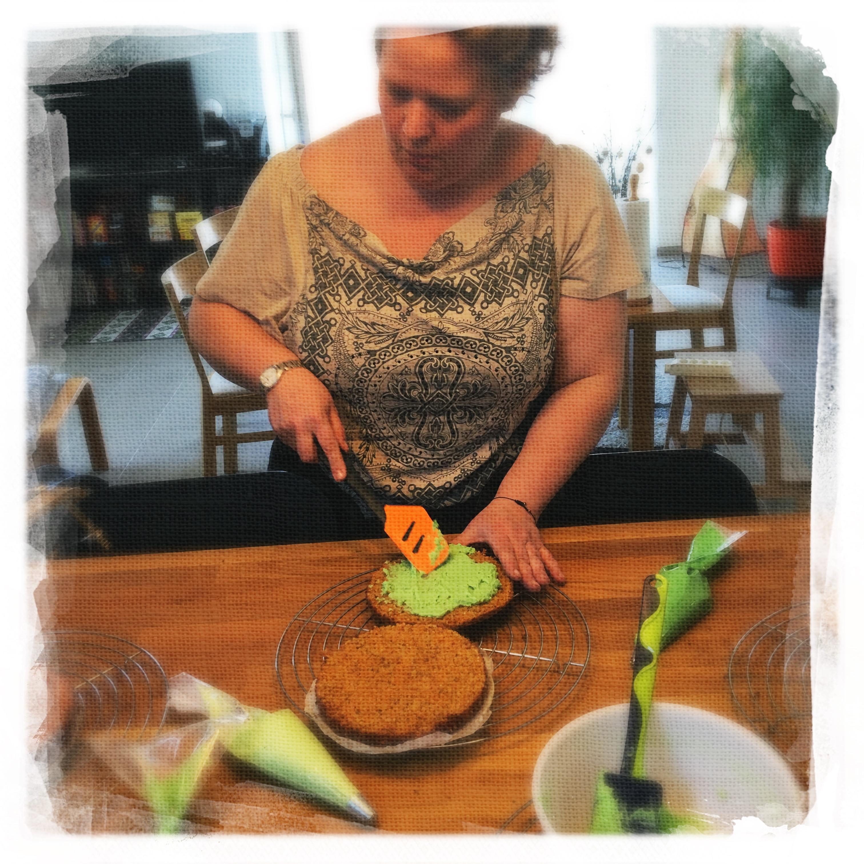 Cours Gâteau de Pâques 2 XII