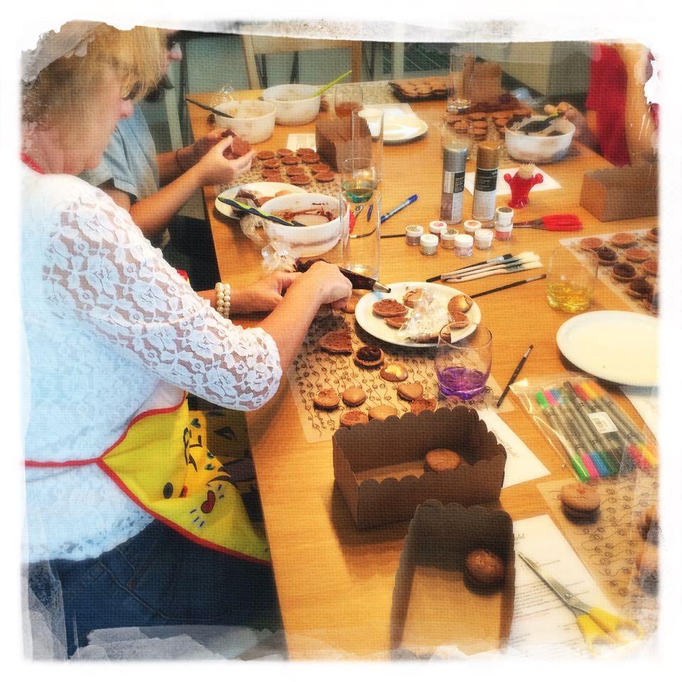 Cours Macarons Chocolat novembre '15