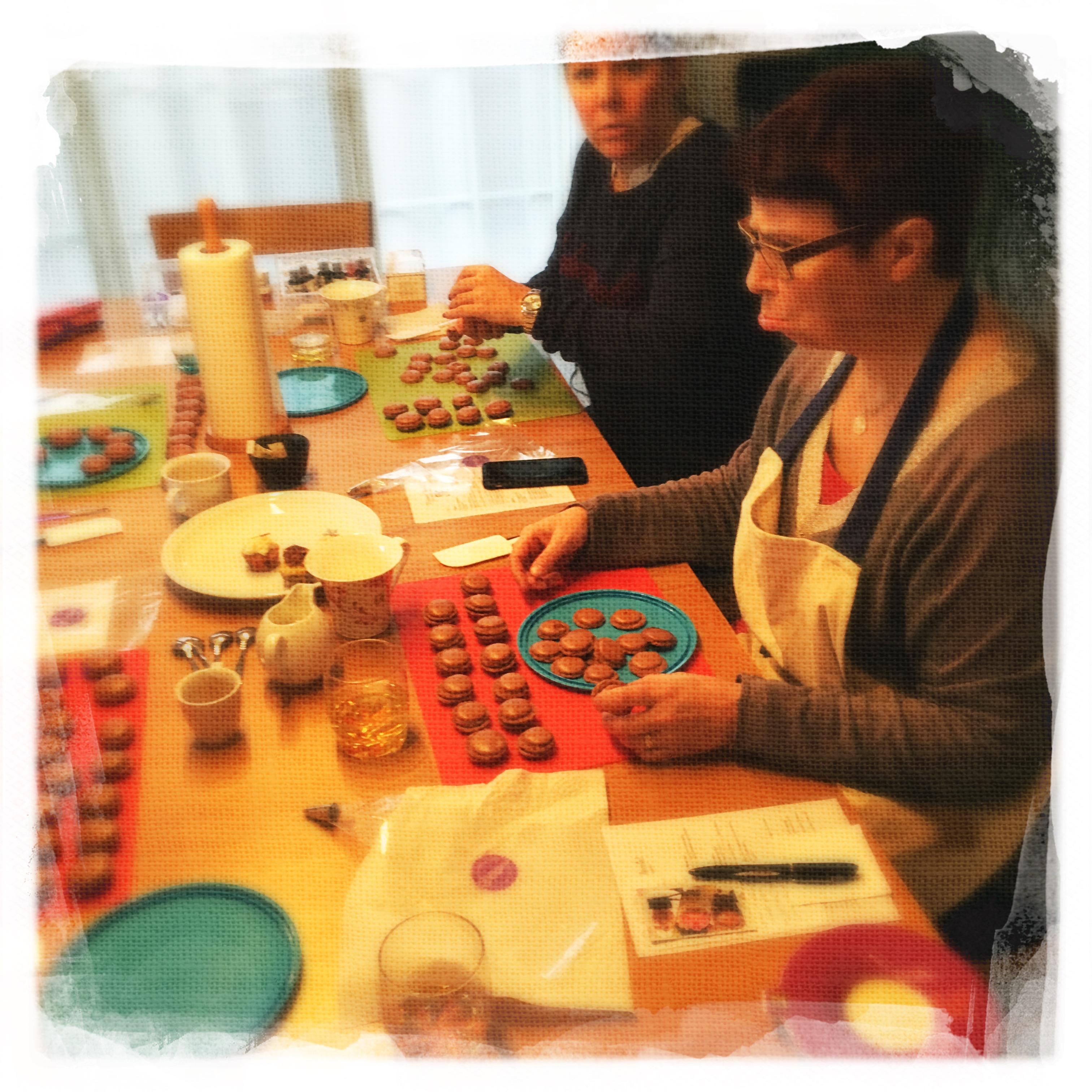 Cours Macarons Chocolat VI