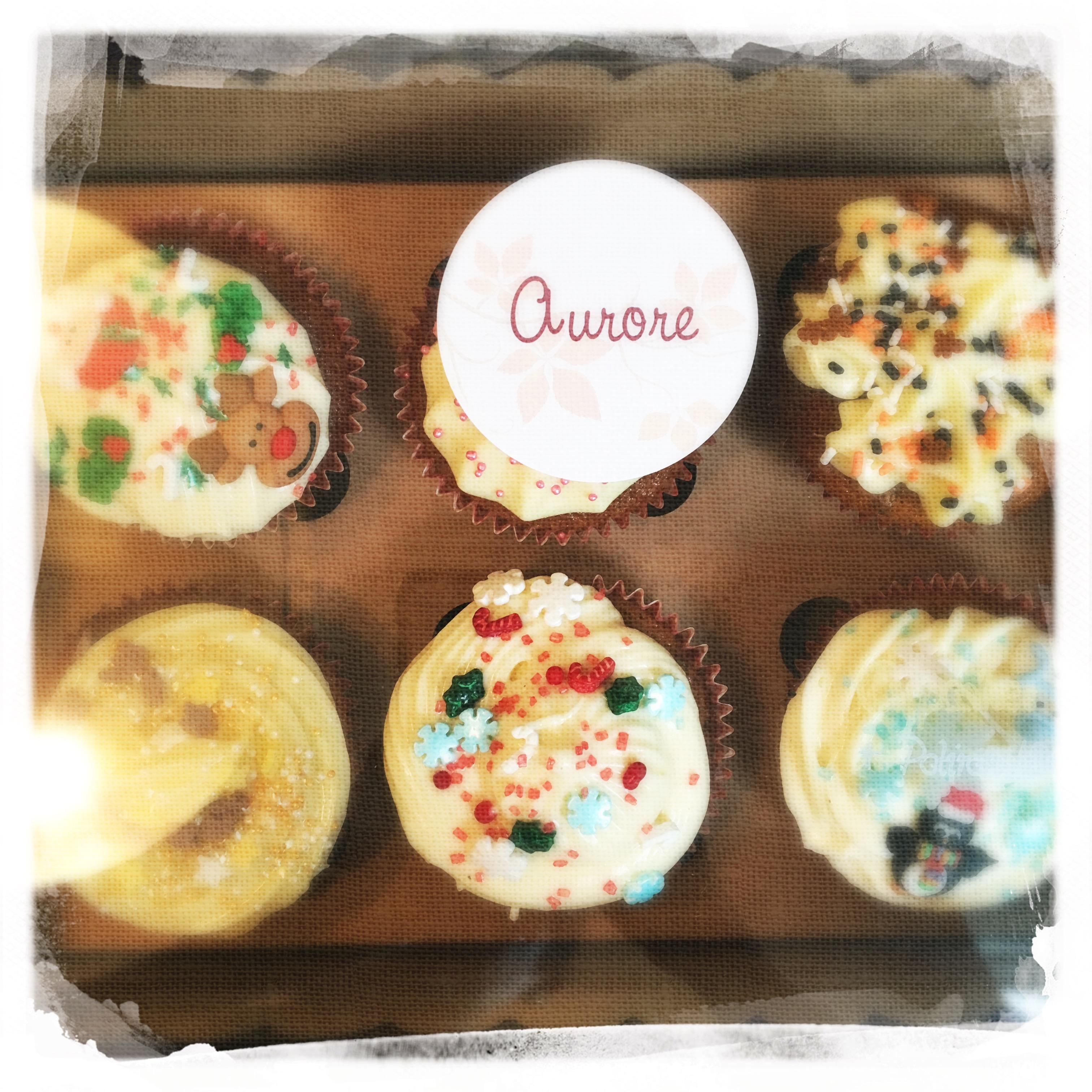 Cours Cupcakes Potiron/... XXVIII