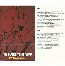 Maine Teen Camp Music Collection 1999.jp