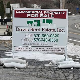 Davis Real Estate Free Standing Sign.jpg