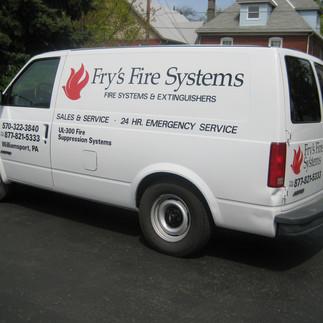 Fry's Fire Systems Van.JPG