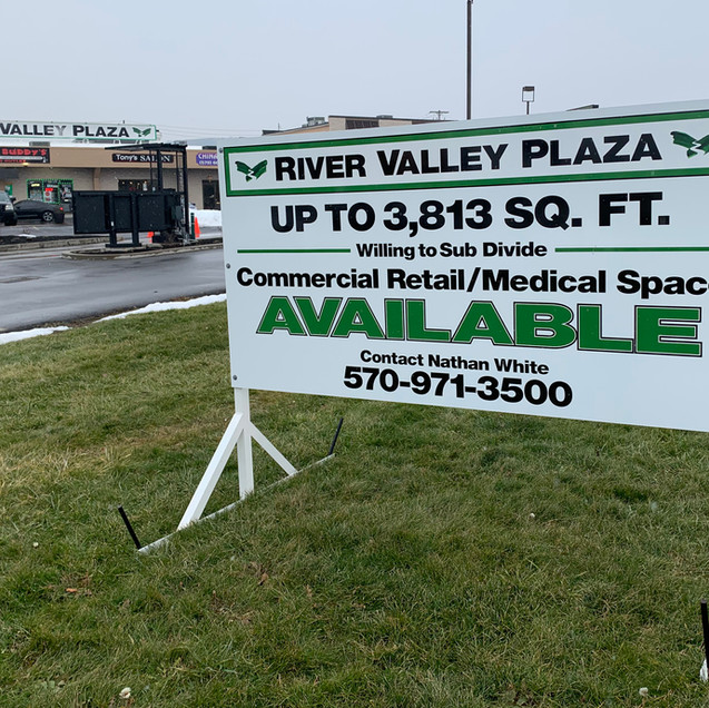 River Valley Plaza Free Standing Sign.jp