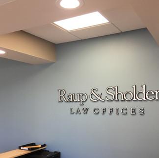 Raup & Sholder Interior Letters.JPG