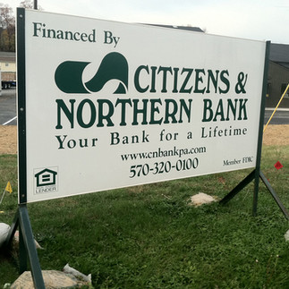 Citizens & Northern Bank Free Standing S