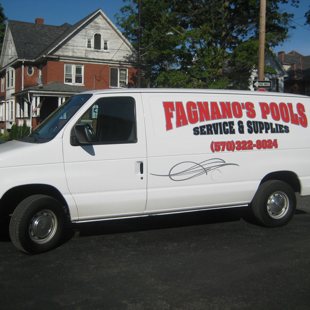 Fagnano's Pools Van.JPG