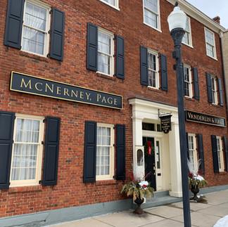 McNerney Page Vanderlin & Hall Front Sig