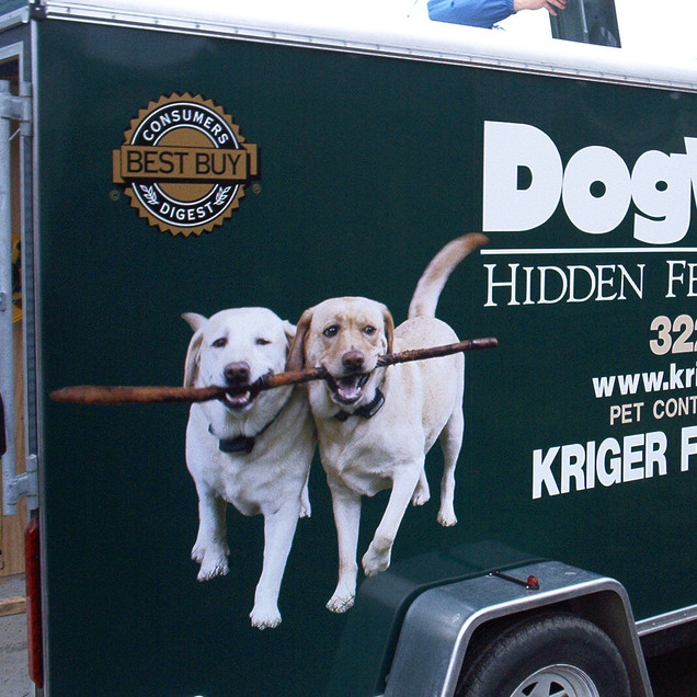 Kriger Fence Dog Watch Trailer