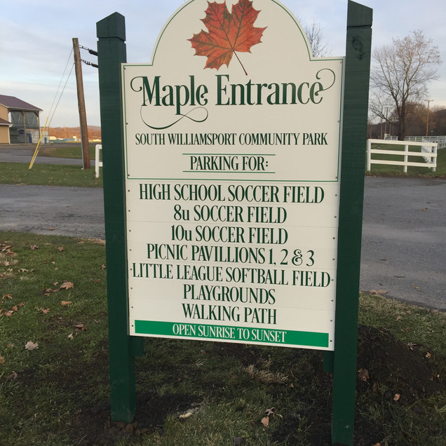 South Williamsport Park Directional.JPG