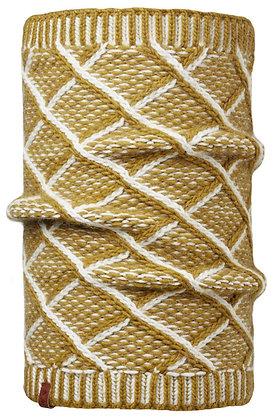 針織保暖領巾 大漠 PLAID TOBACO