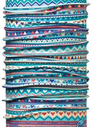 藍點星星 兒童Coolmax抗UV頭巾