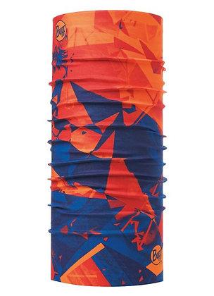橘光藍影 經典頭巾
