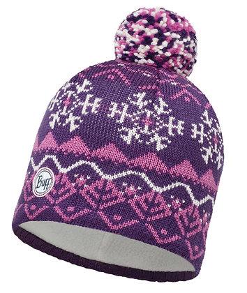 針織Polar保暖帽 VAIL PLUM