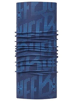 海軍藍紋 Coolmax抗UV頭巾