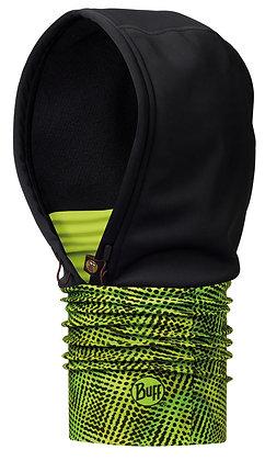 螢綠流線 WINDSTOPPER防風連帽頭巾