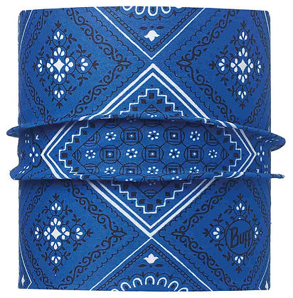 旅人藍紋 寵物經典頭巾