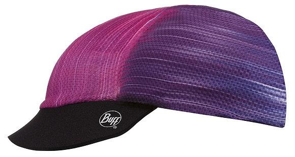 紫彩花紋 抗UV快乾雙面遮陽帽