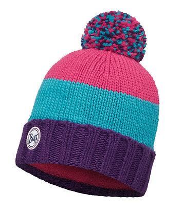 針織Polar保暖帽 BERNA PLUM