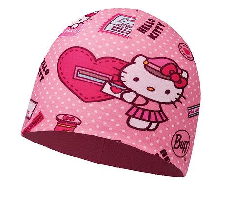 心情快遞 HELLO KITTY 兒童POLAR雙層保暖帽