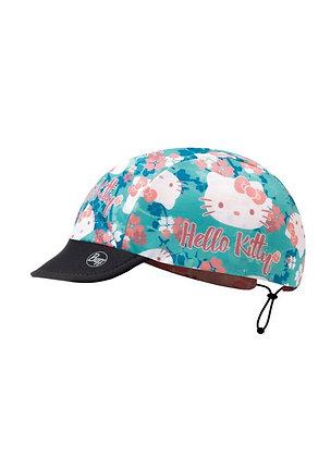 粉嫩櫻花 HelloKitty兒童抗UV快乾雙面遮陽帽