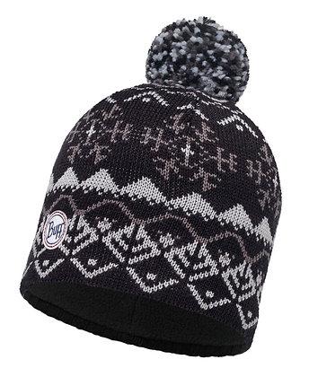 針織Polar保暖帽 VAIL BLACK