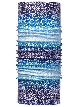 藍白禪意 Coolmax抗UV頭巾